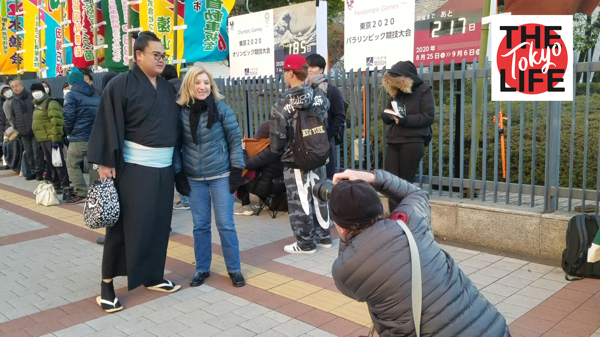 Maction Planet 'A Day at the Sumo' video collaboration with The Tokyo Life
