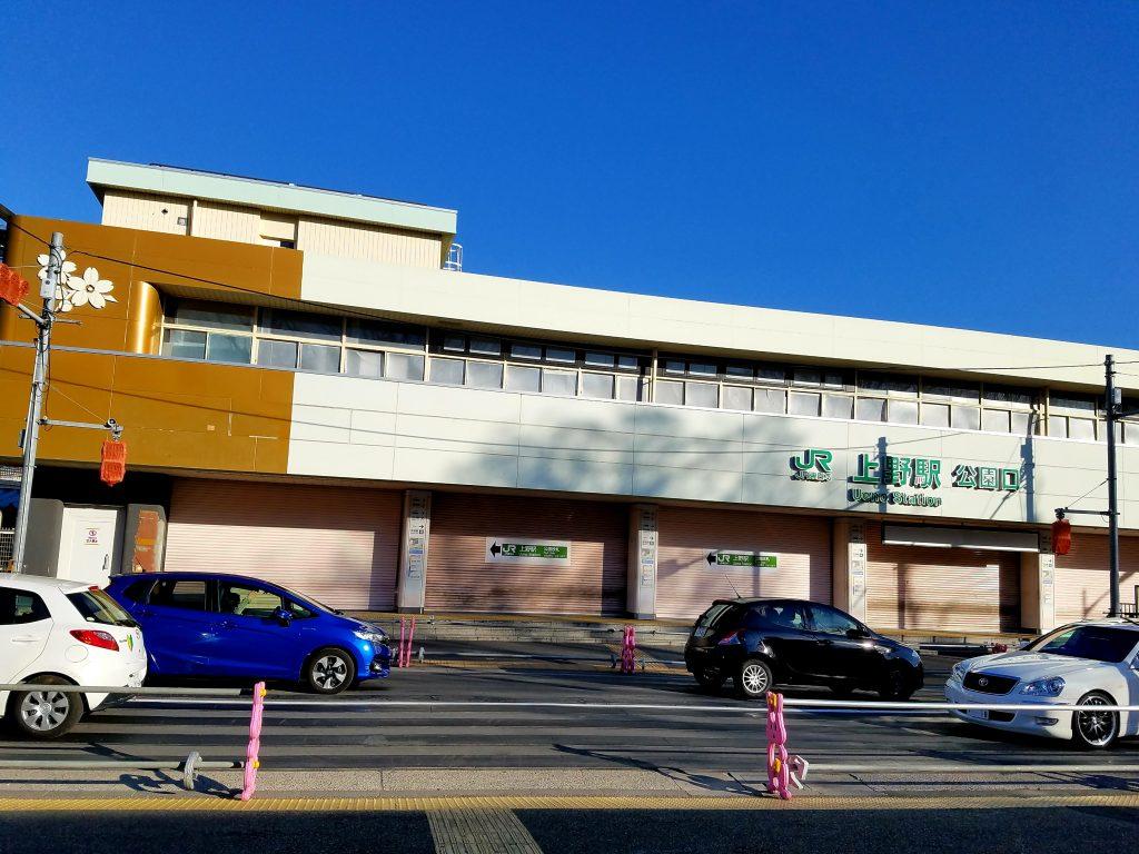 Old JR Ueno Station Park Gate Entrance