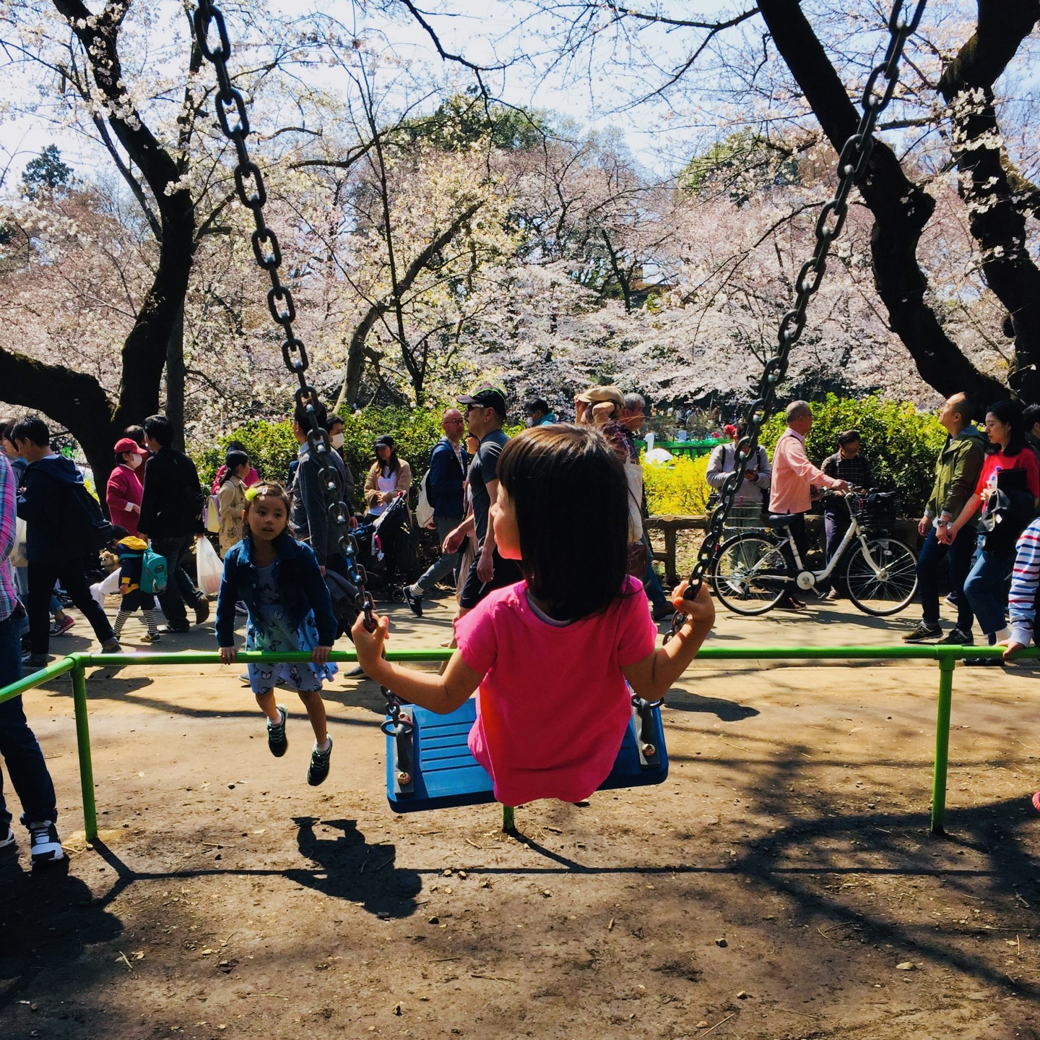 Tokyo ON #61: Kichijoji is Alright: In honour of Craftrock Circuit '20. Kids playing in Inokashira Park