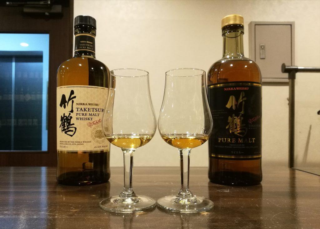 Nikka Taketsuru Whisky - old and new