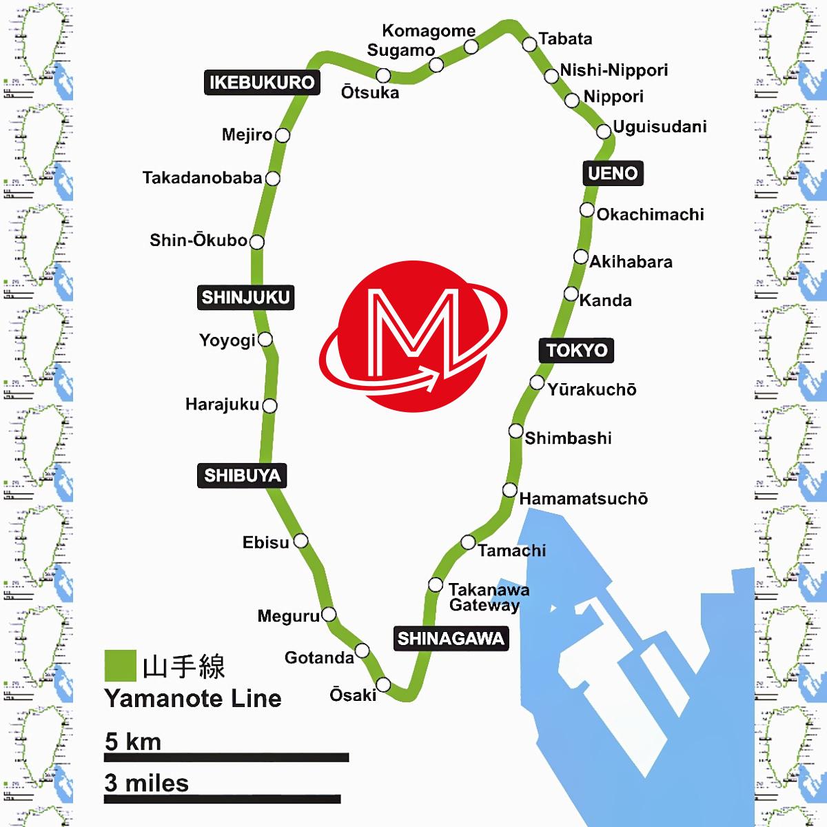 Tokyo ON #062: Tour de Tokyo II - Big Yamanote 6