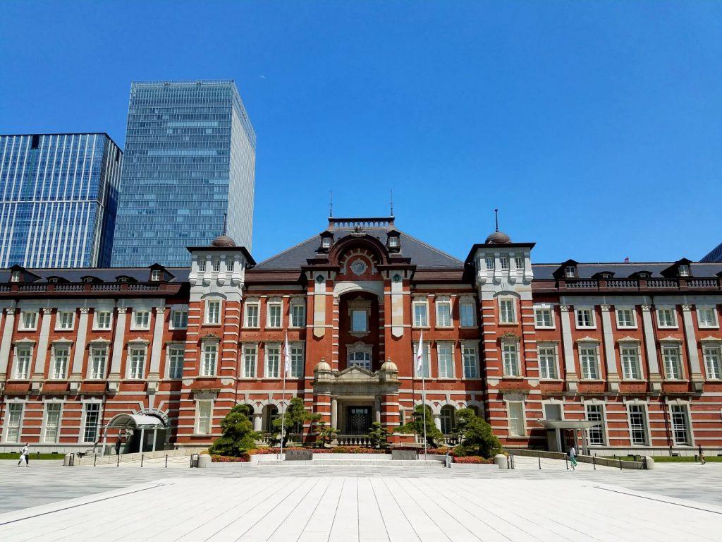 Tokyo Station, Tokyo, designed by Tatsuno Kingo on Friday 29 May 2020