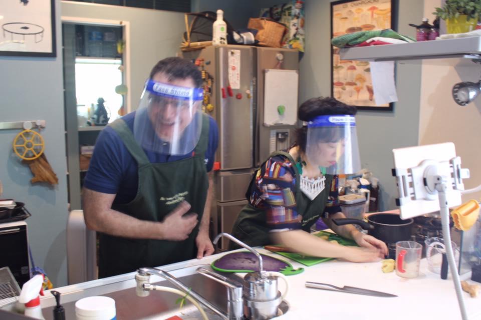 Online Interactive Okonomiyaki Cooking Class
