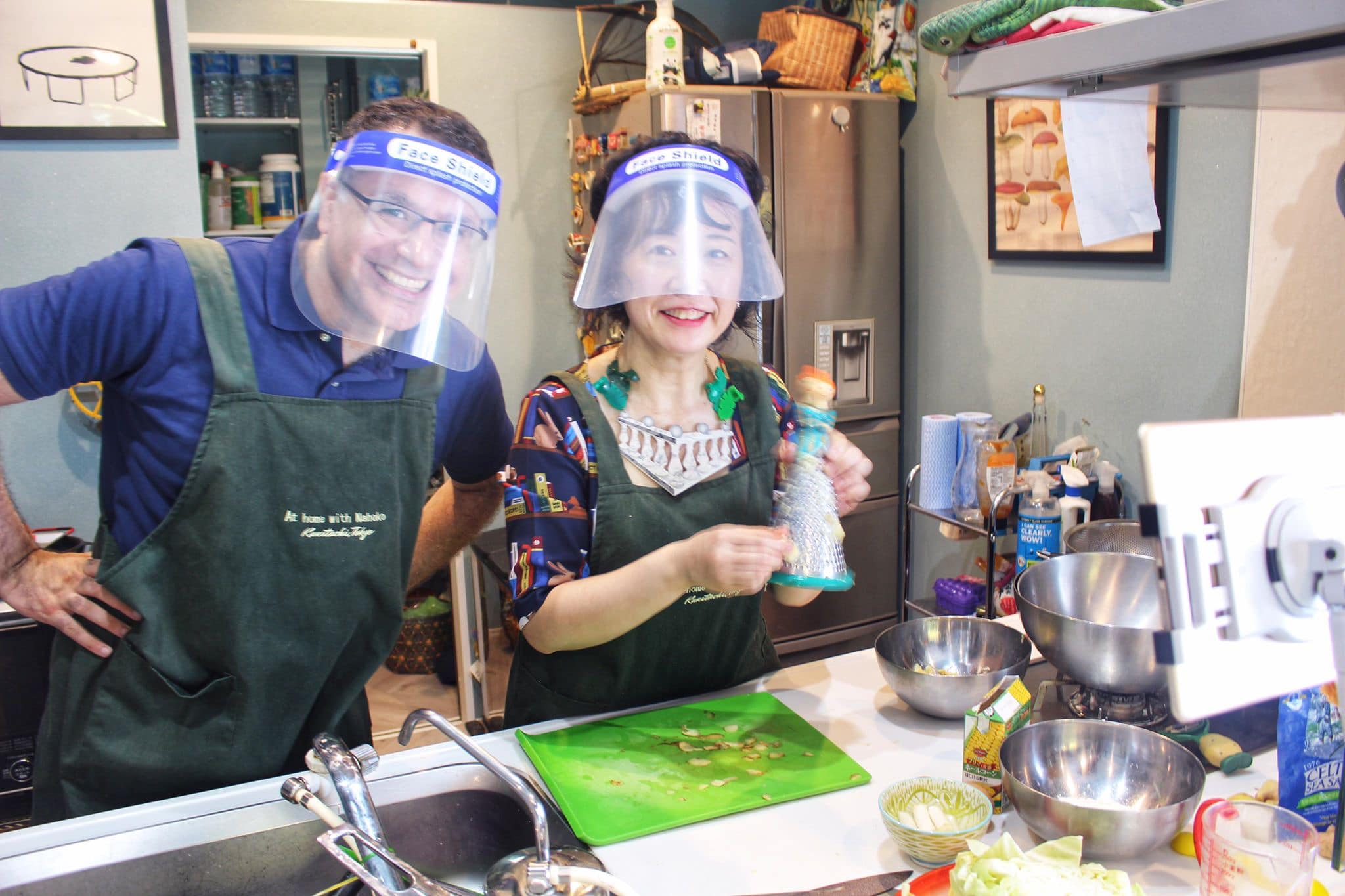 Interactive Online Okonomiyaki Cooking Class