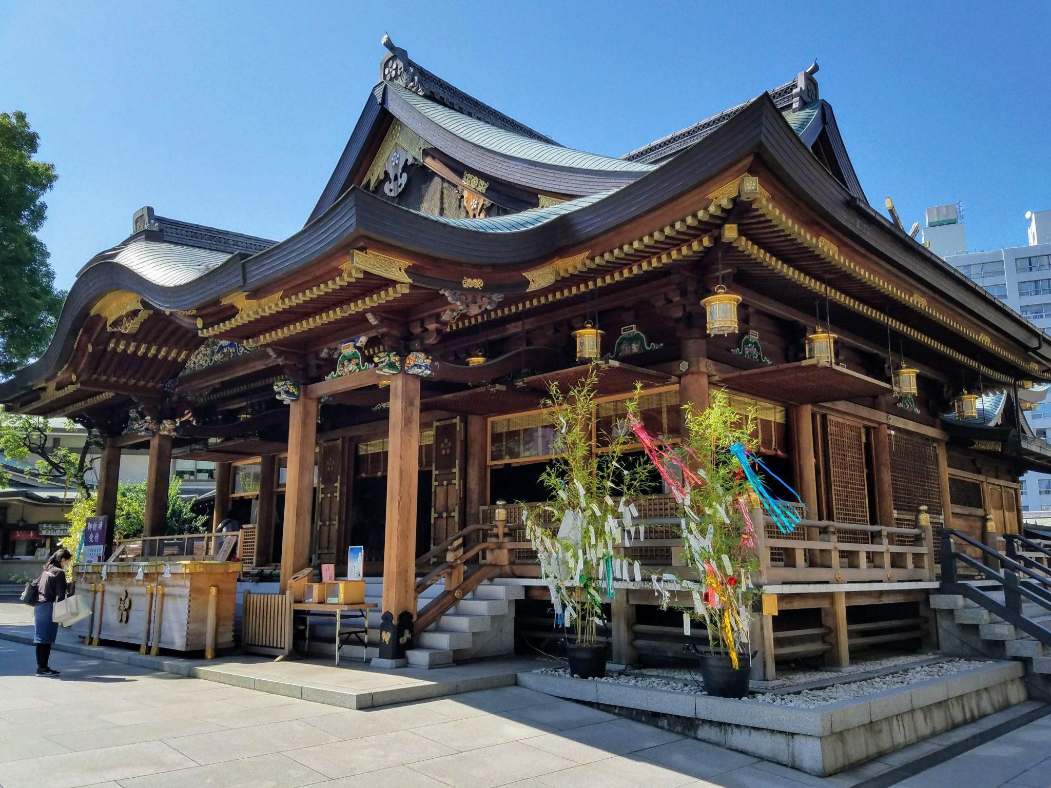 Yushima Tenjin Shrine in Tokyo during Tanabata