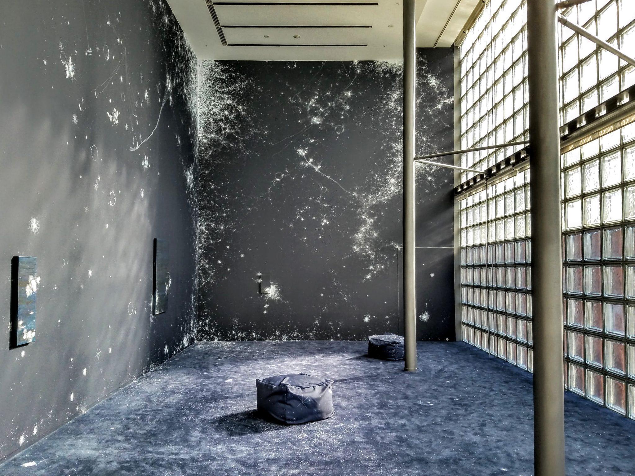 """COSMIC GARDEN"" by SANDRA CINTO installation at Hermes Tokyo"