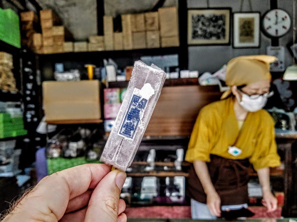 Koori Yokan from Kotobukidou in Ningyocho, Tokyo