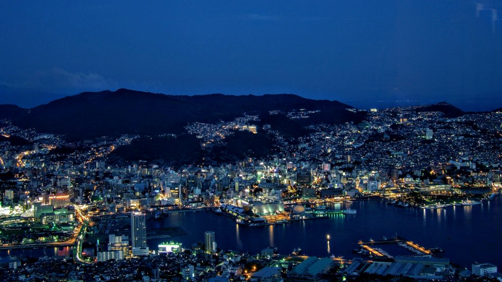 The 10 Million Dollar View of Nagasaki from Mount Inasa
