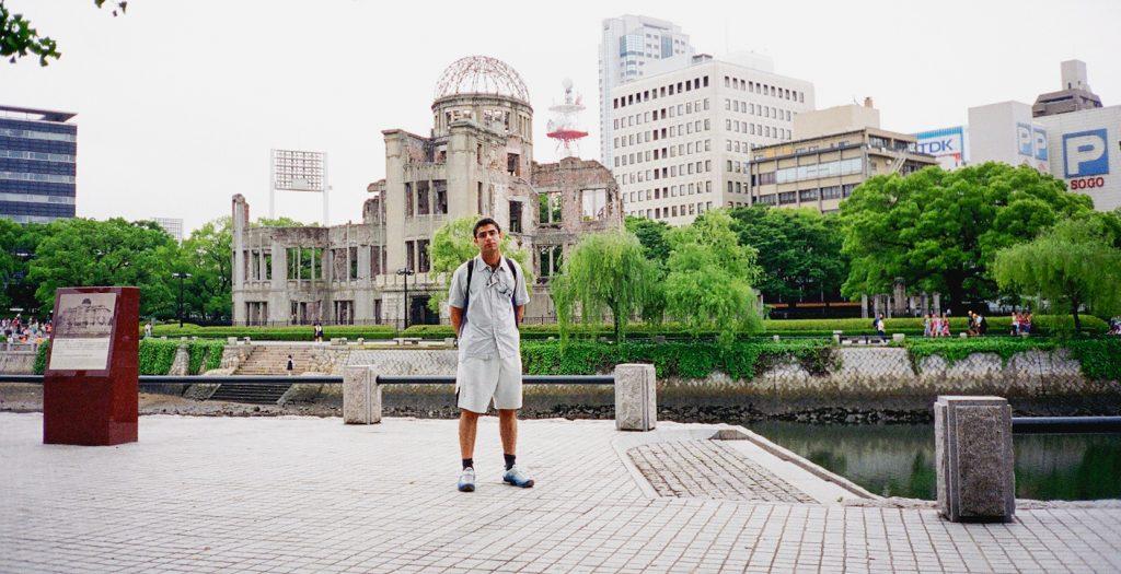 Hiroshima A-bomb Dome: June 2002