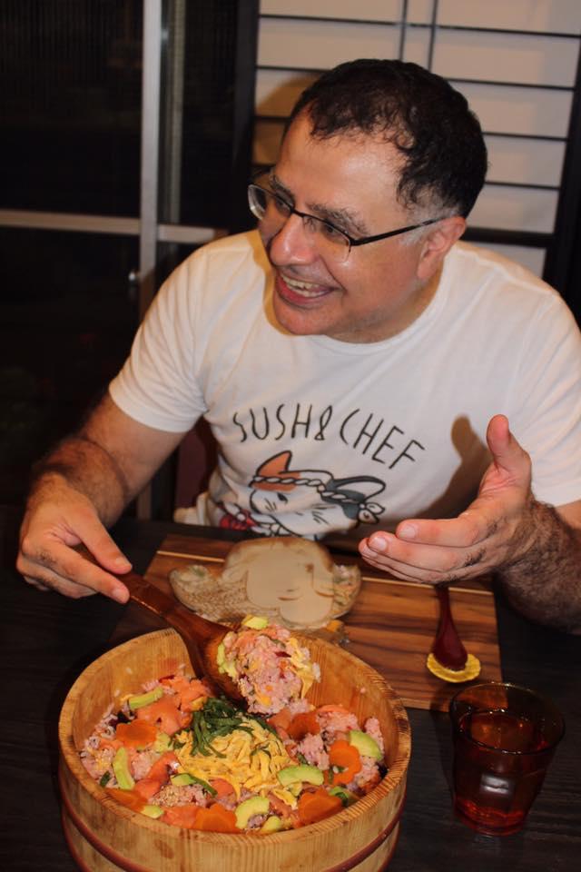 Chirashi Sushi Cooking Class success