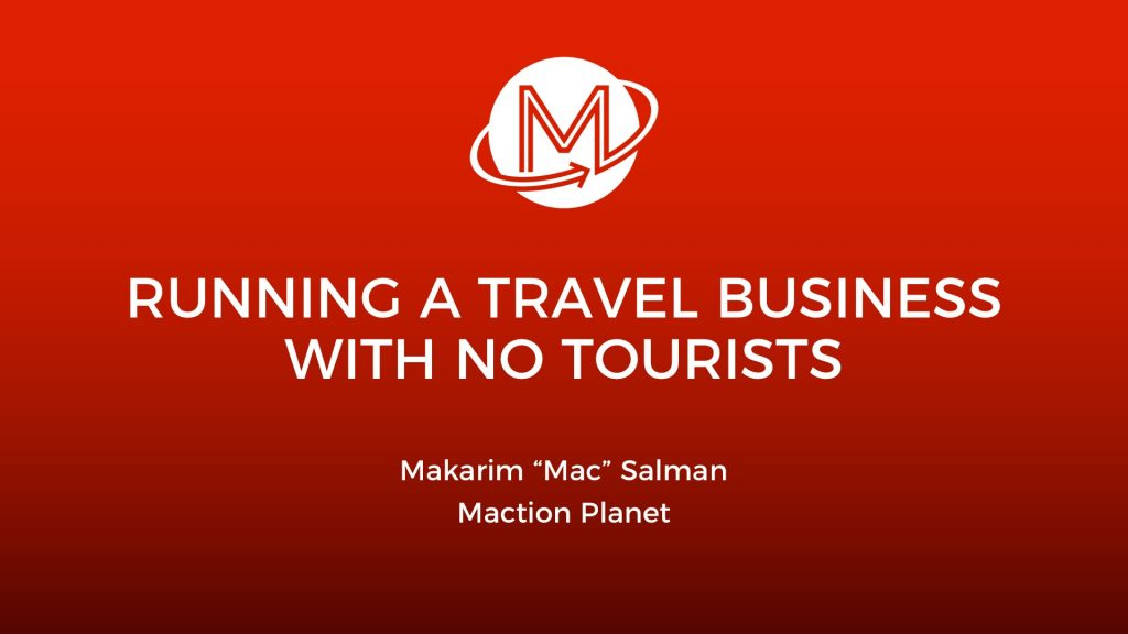 Building a travel business with no tourists