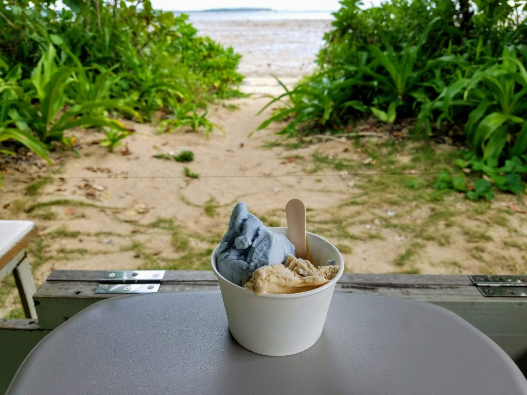 Ice Cream on Yubu Island