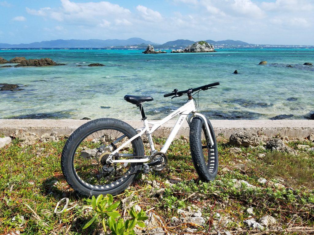 Cycling on Taketomi Island, Ishigaki