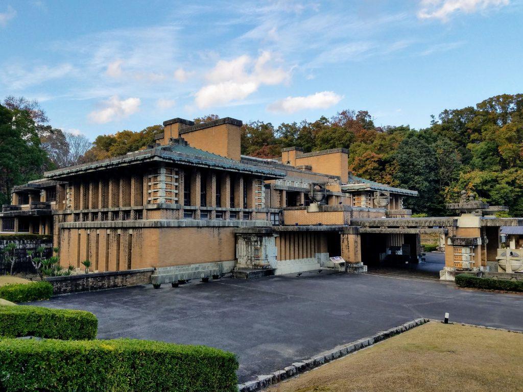 Frank Lloyd Wright Imperial Palace at Meiji Mura