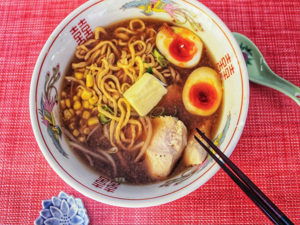 Miso Ramen online interactive cooking class