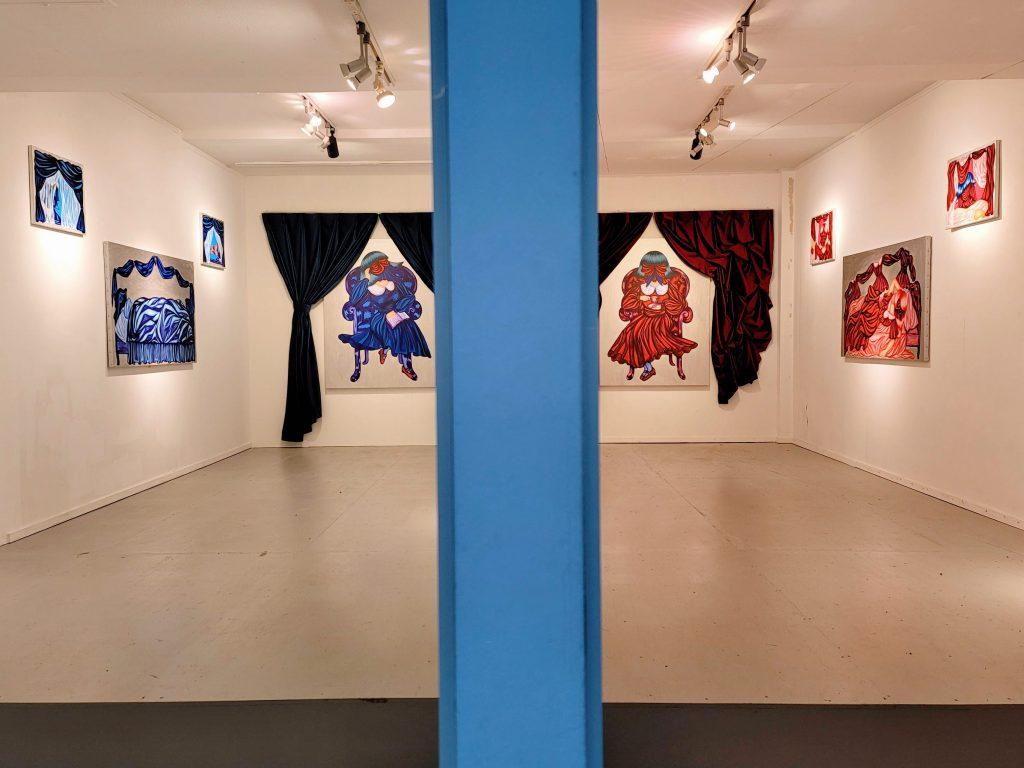 Ms.Curtain's Diary by Yoshiko Fujita at Koganecho Bazaar 2020