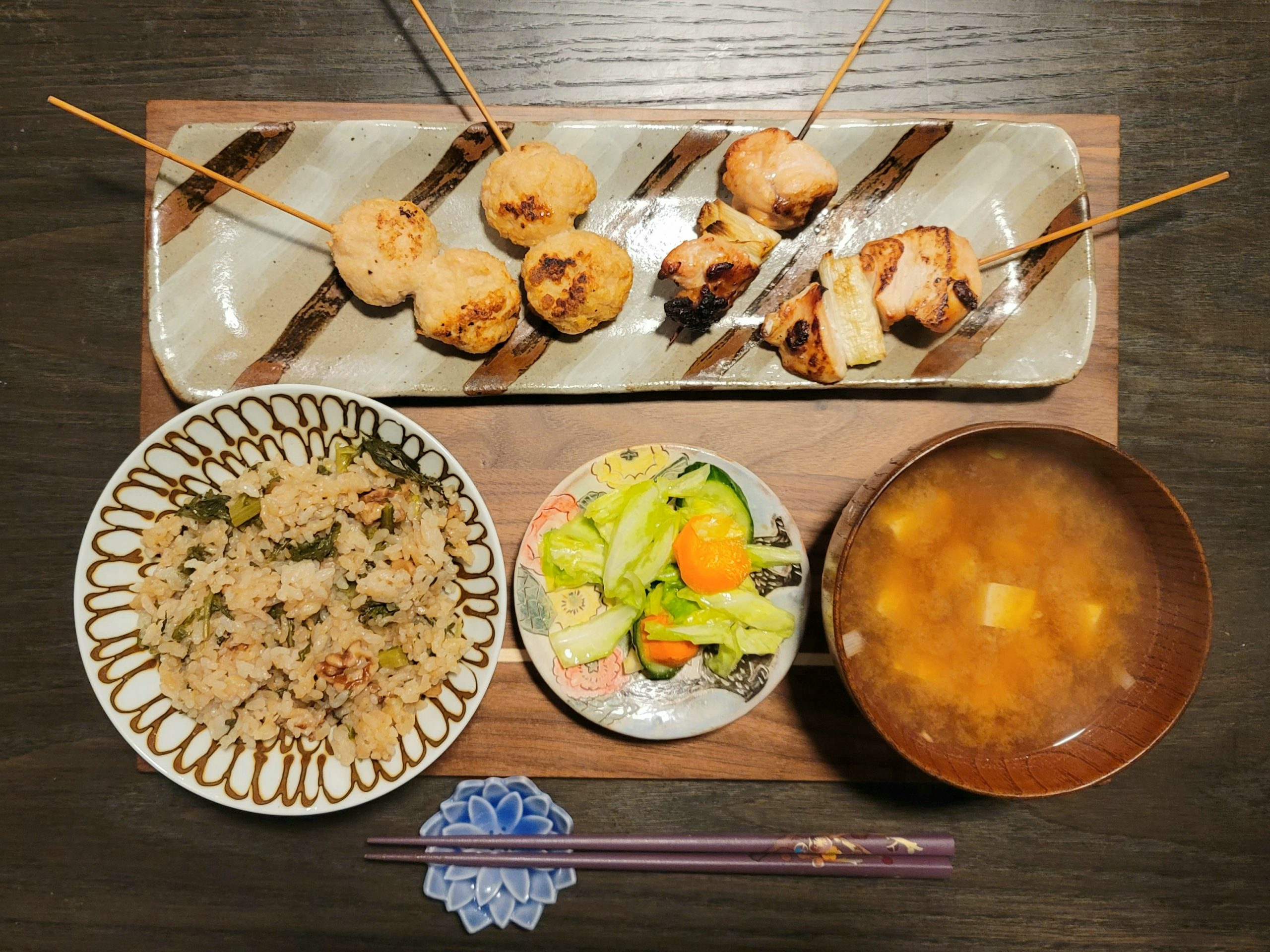 Yakitori Teishoku online cooking class
