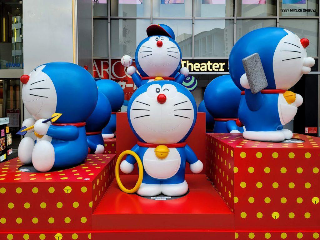 Doraemon at Parco Shibuya