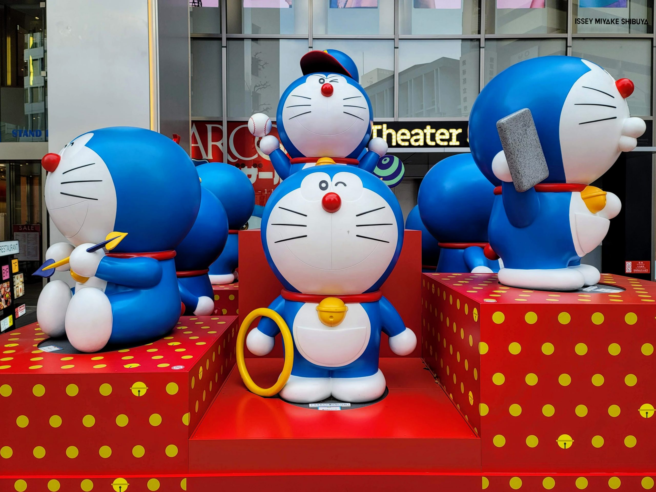 Doraemon at Parco Shibuya