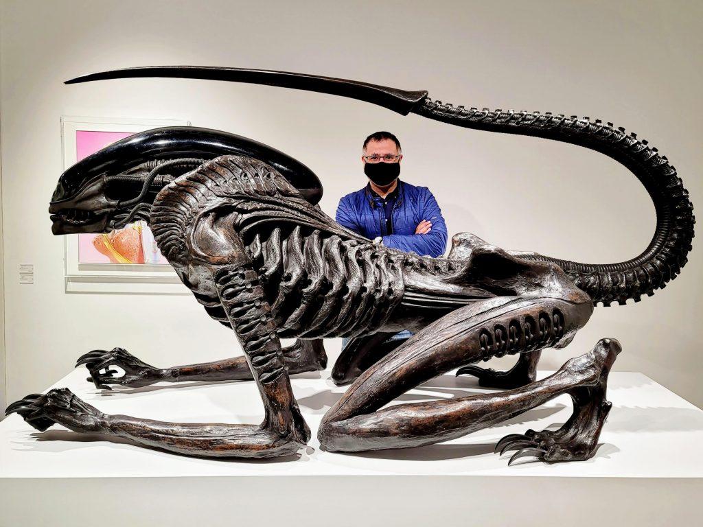 Giger x Sorayama Exhibition at PARCO