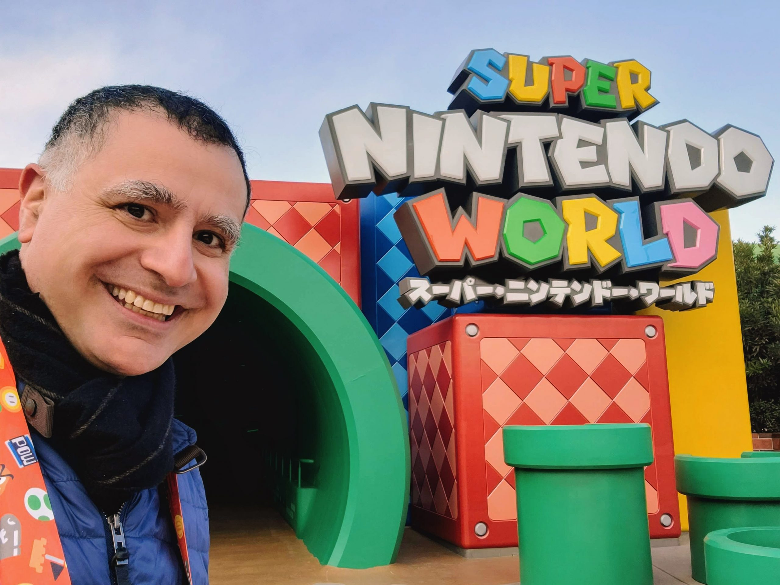 Super Nintendo World at USJ in Osaka, Japan