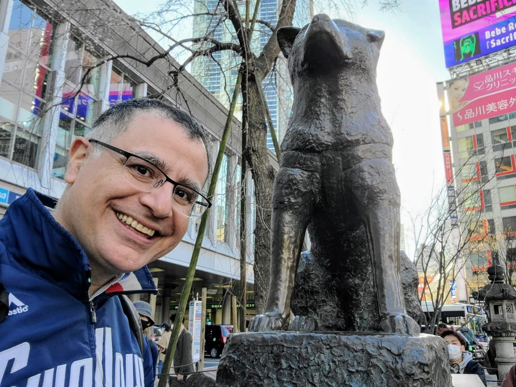 Mac, Founder of Maction Planet, and Hachiko