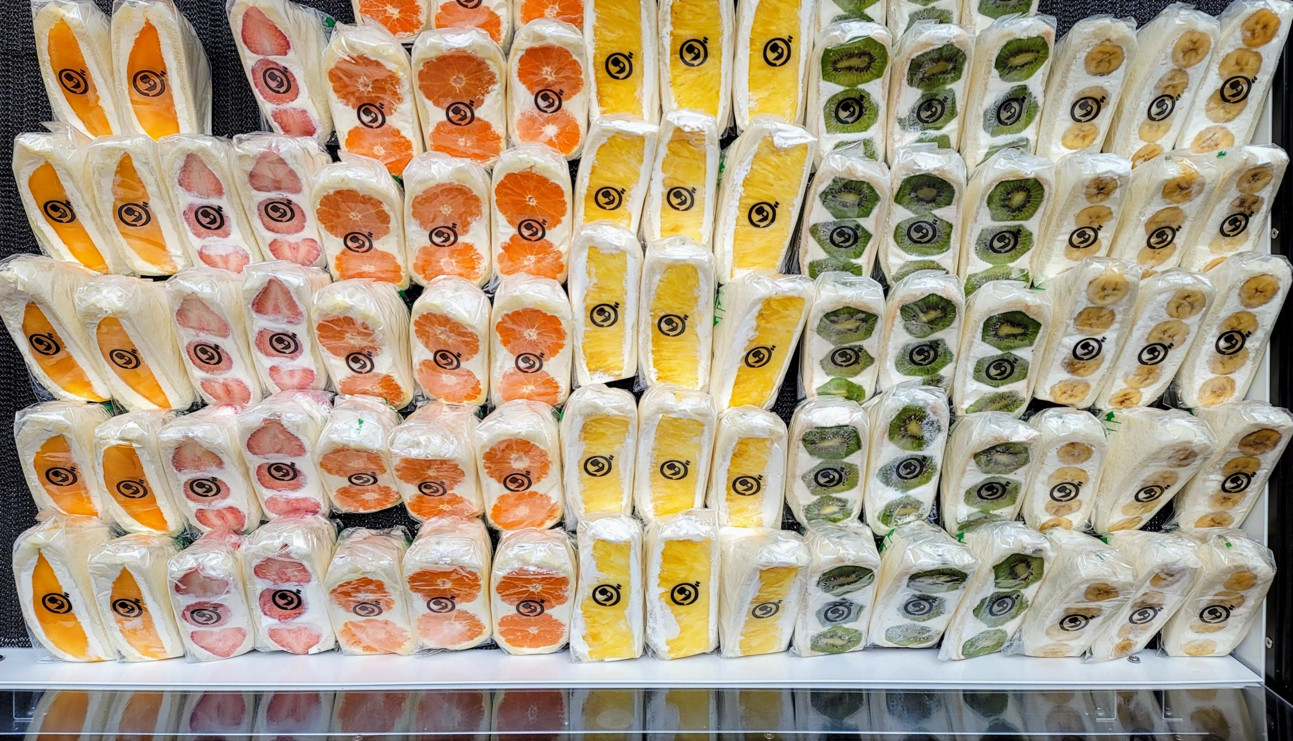 Japanese Fruit Sandwiches at Da Cafe at Prince Smart Inn Ebisu
