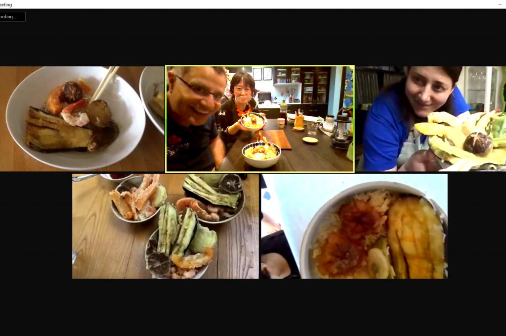 Tendon online interactive cooking class - Europe