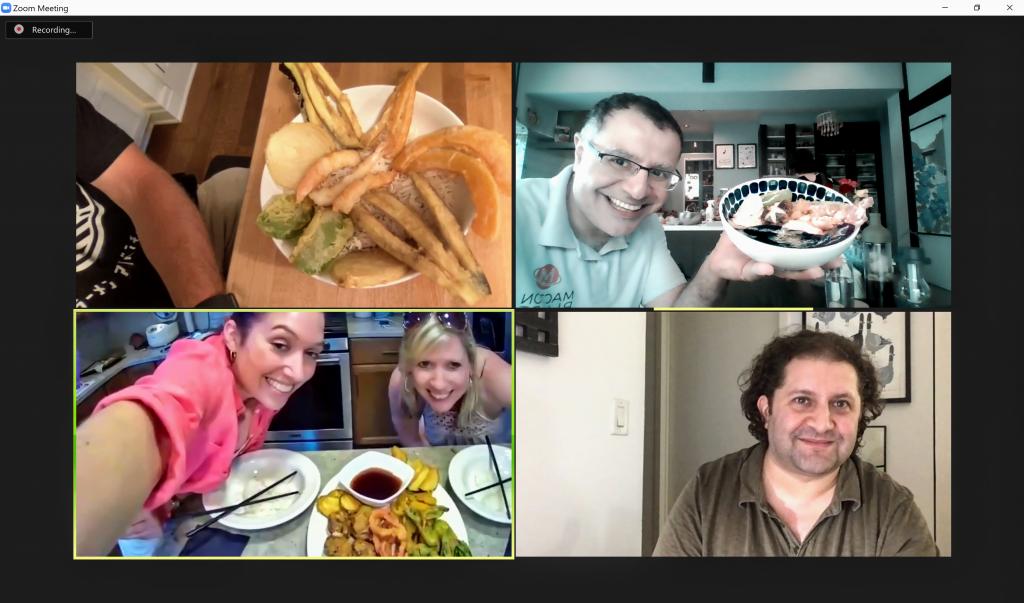Tendon online interactive cooking class - US