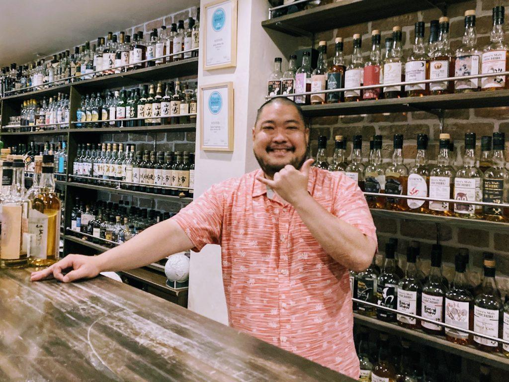 David Tsujimoto - Aloha Whisky Bar in Ikebukero, Tokyo