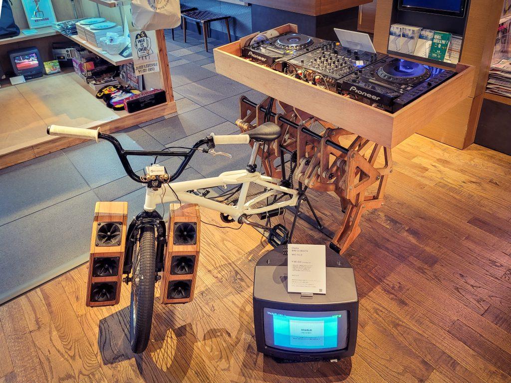 'Charlie BIKE DJ BOOTH' by MOC Ollie from Hamamatsu City in Shizuoka Prefecture