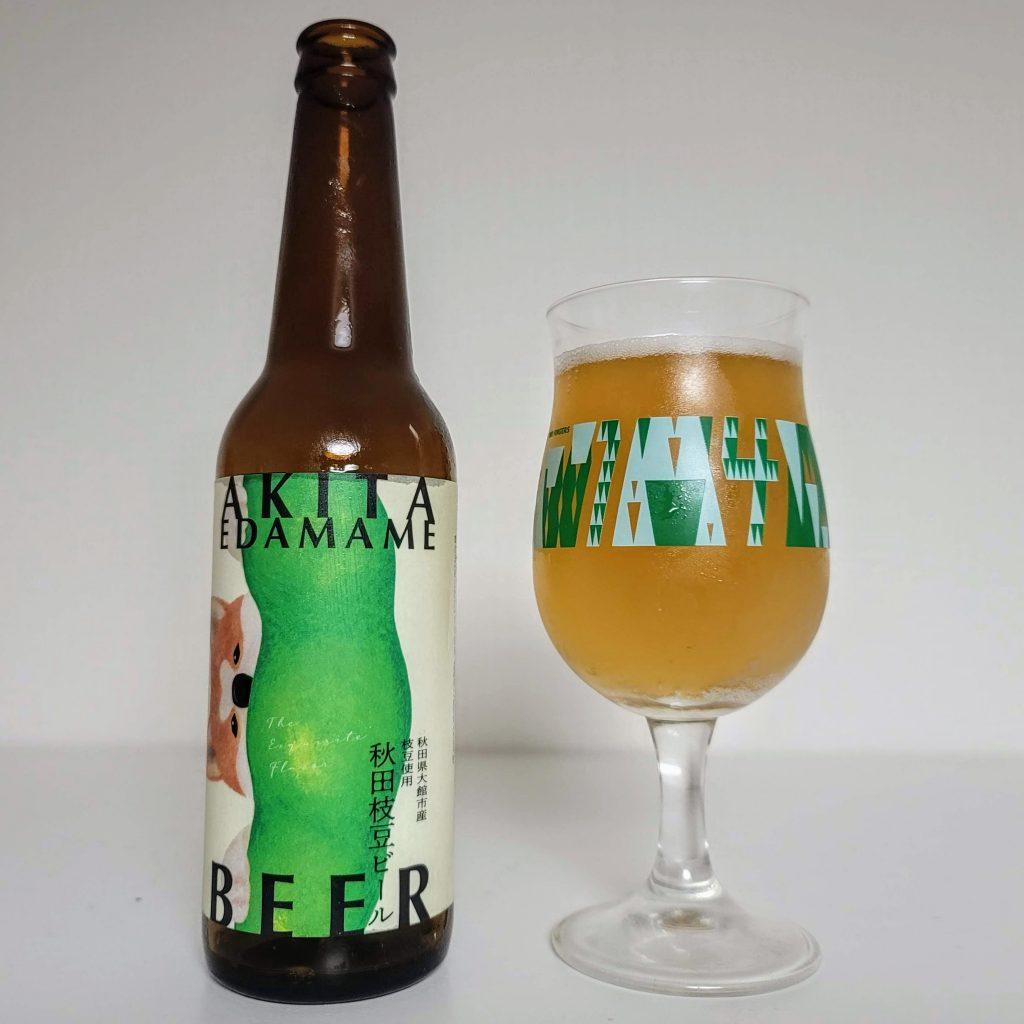 Akita Edamame Beer