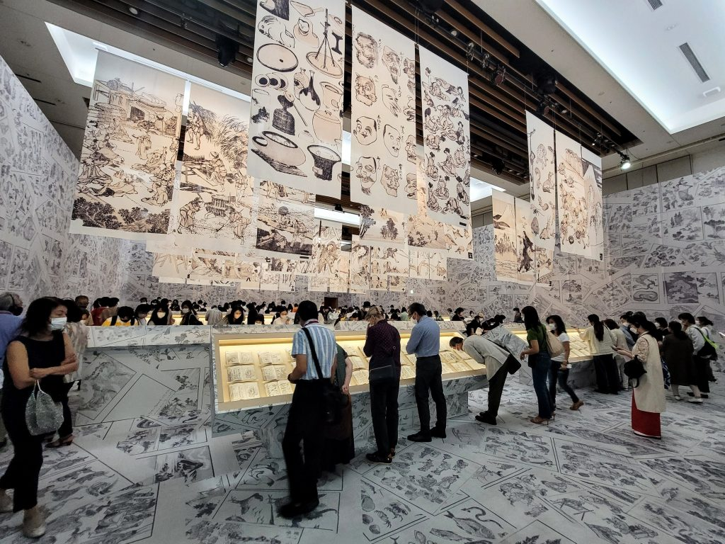 The Complete Hokusai Exhibition at Tokyo Midtown Hall 2021