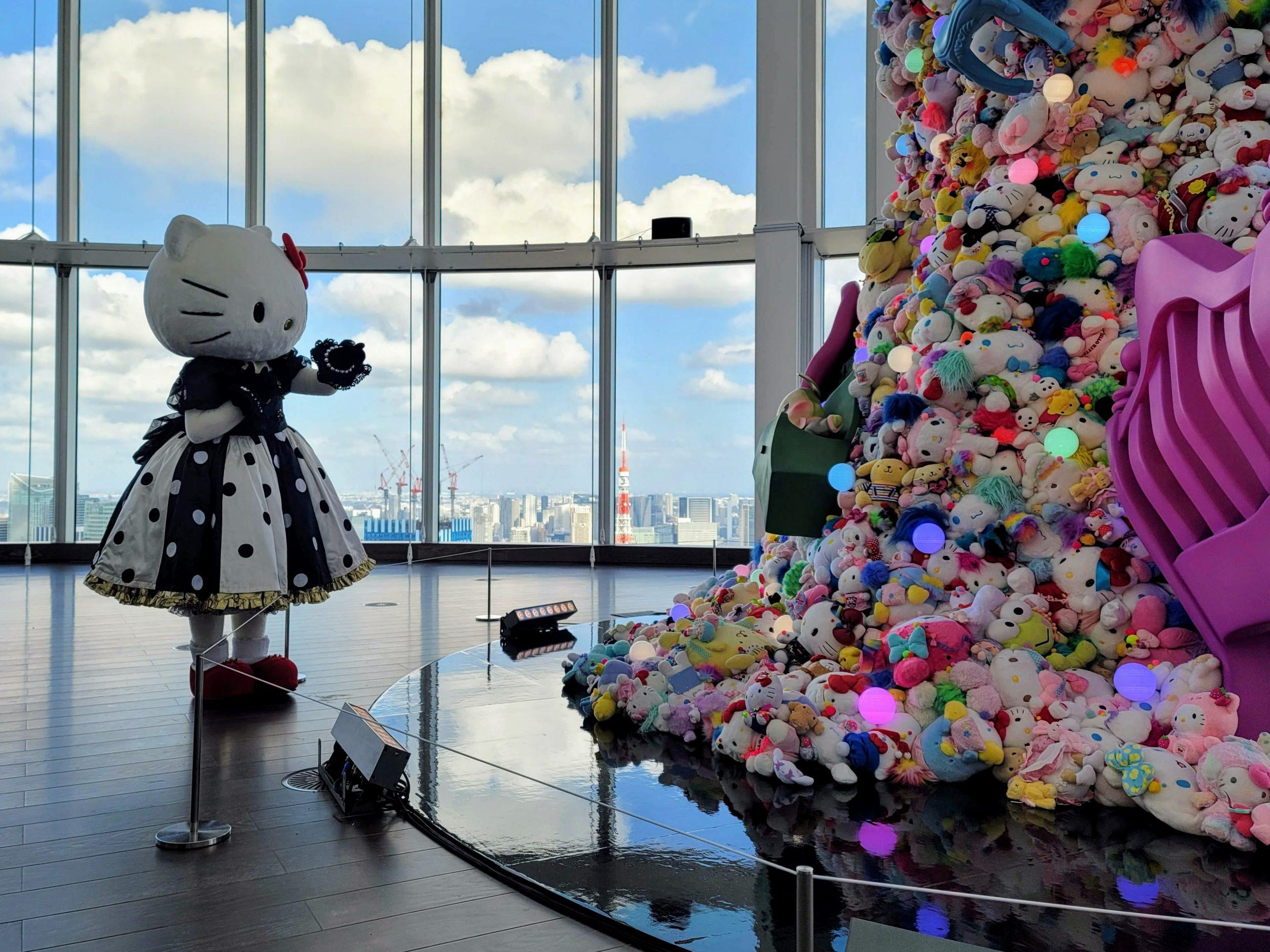 60TH ANNIVERSARY SANRIO EXHIBITION THE BEGINNING OF KAWAII Exhibition at Tokyo City View Roppongi Hills